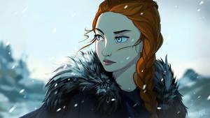 Sansa Stark by KalaSketch