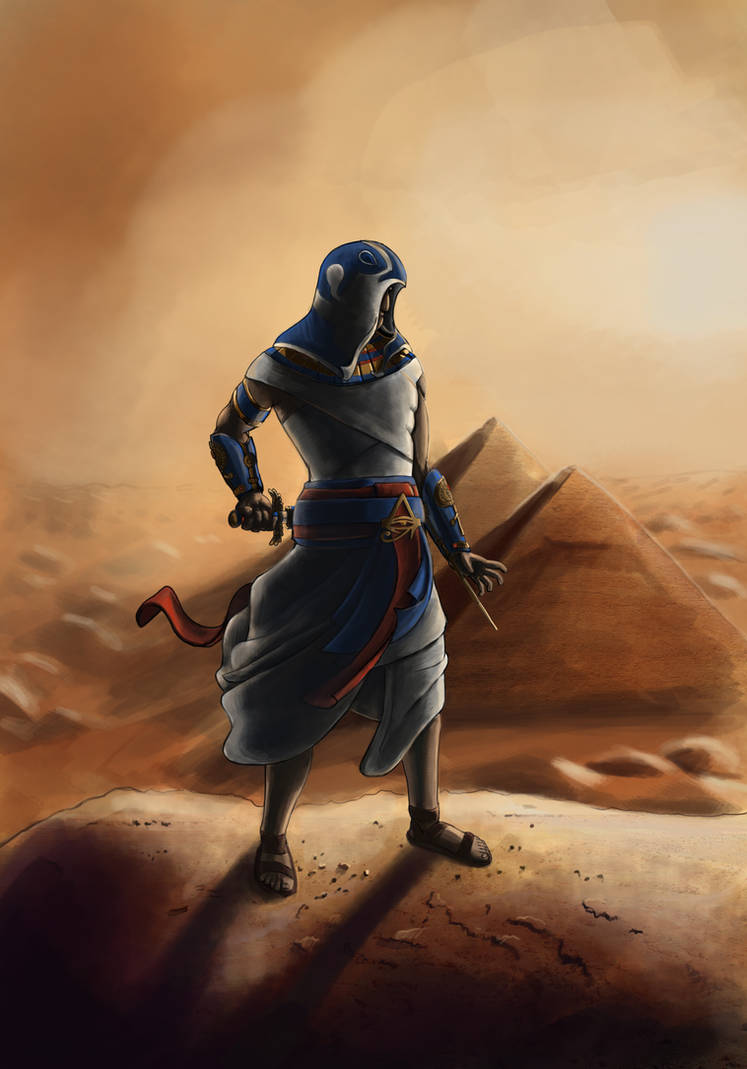 Egyptian Assassin by izidro