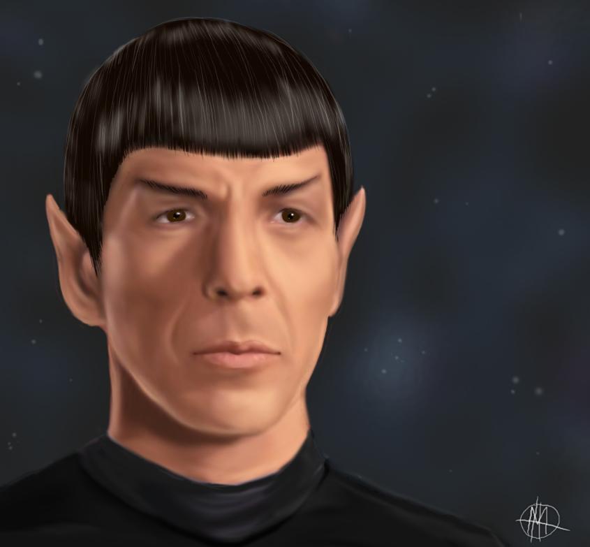 Spock by Vista0007
