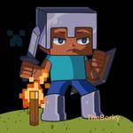 Minecraft Steve by TheBorky