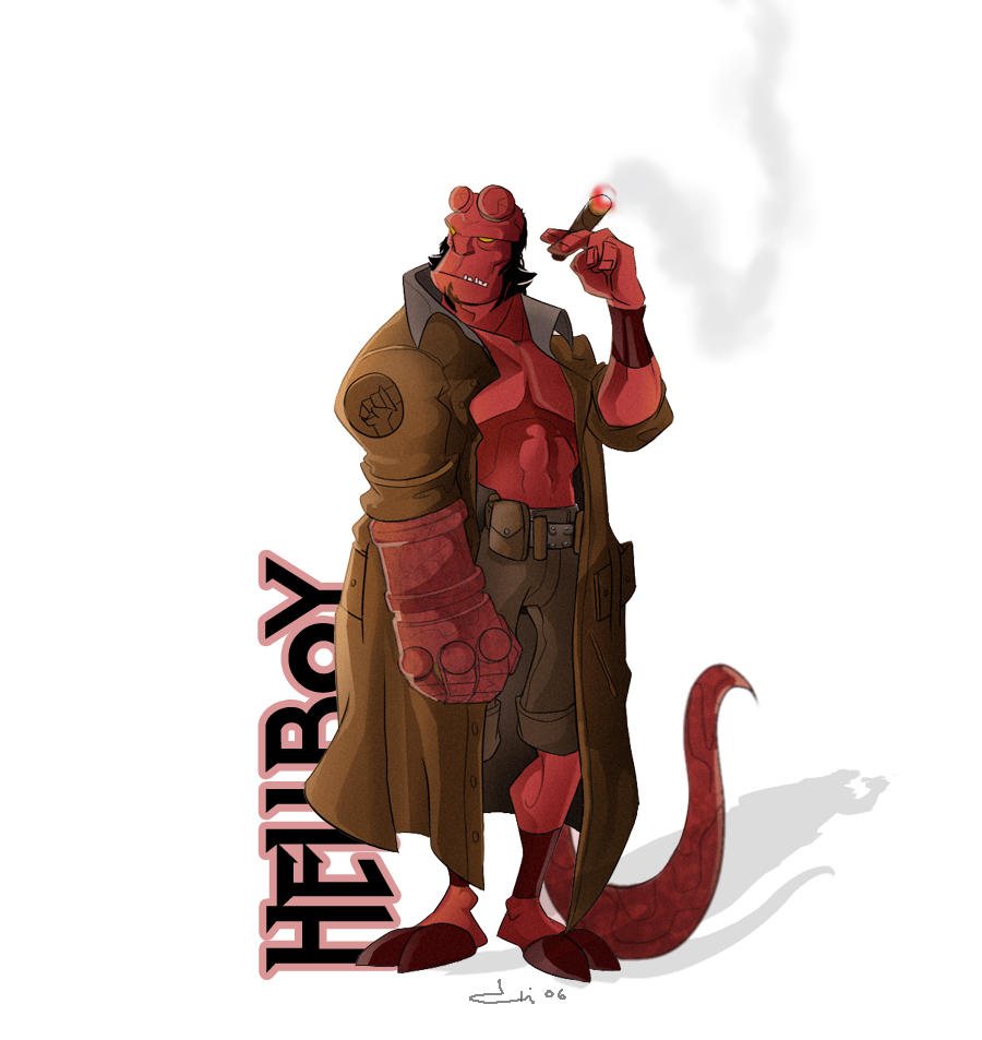 hellboy 2 by diablochingo