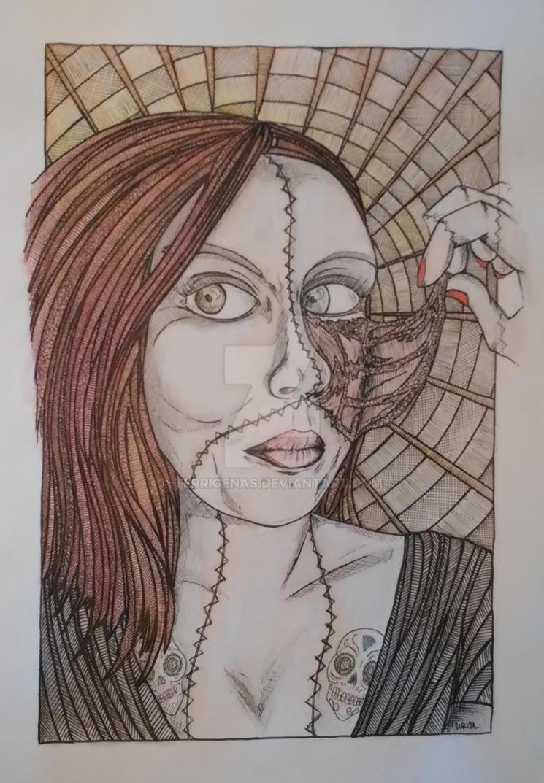Zombie Girl - Haze by Terrigenas