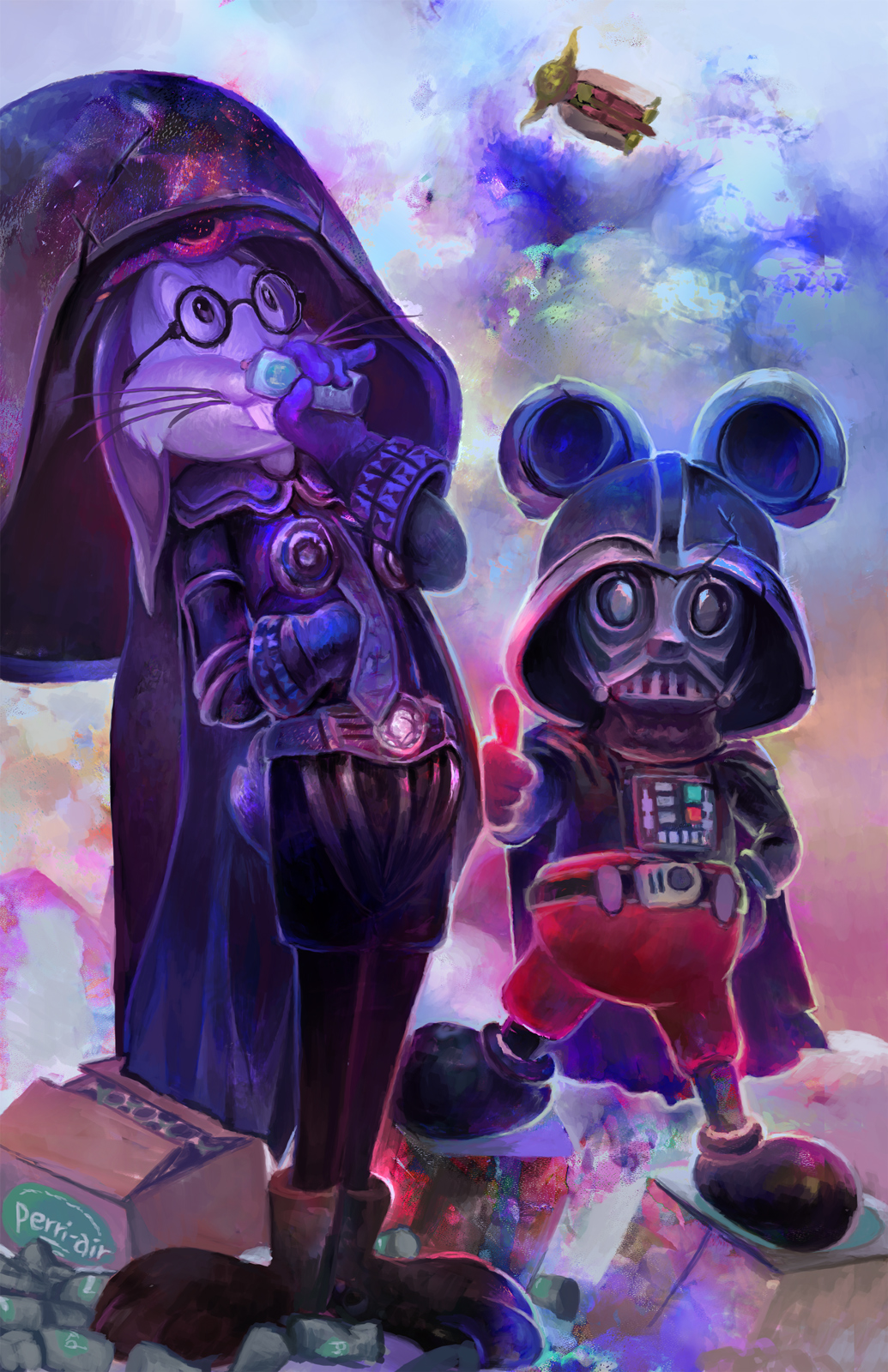 It is Good to be the Dark Side by Puillustrated