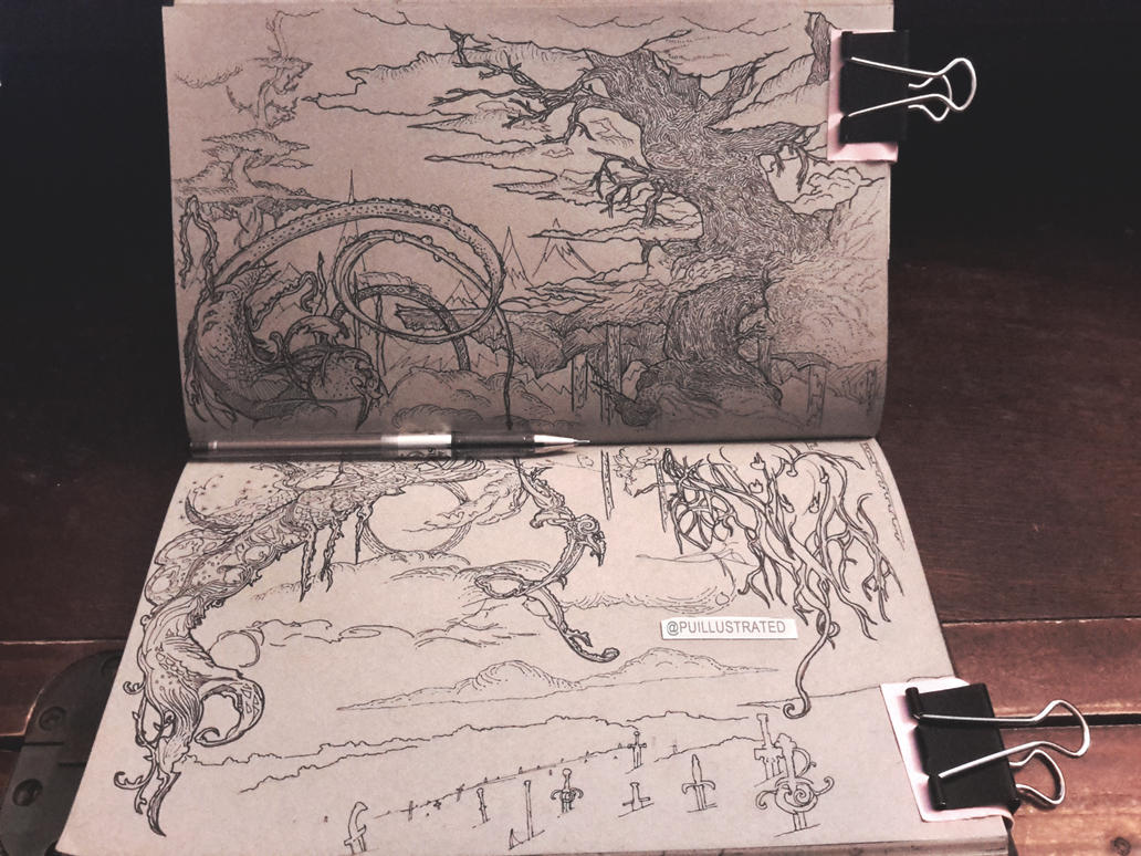 Tree of Vahalla (Done) by Puillustrated