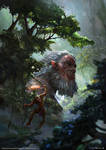 Jungle giant by VVnan