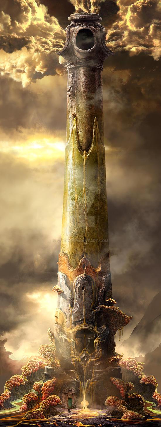 Asura tower by VVnan