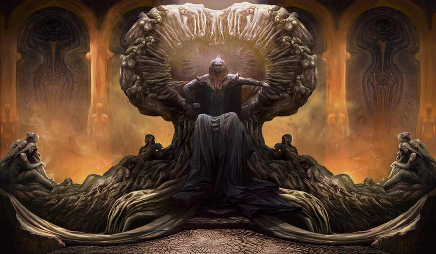 Asura throne by VVnan