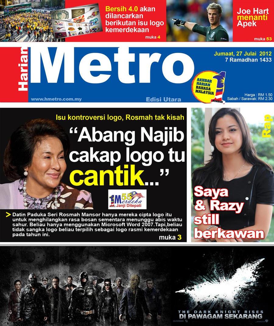 Harian Metro Rosmah by RazytheLast on DeviantArt
