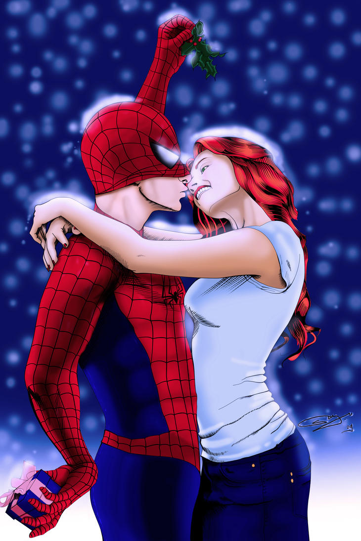 Merry Christmas Spider Man by JHTriune on DeviantArt