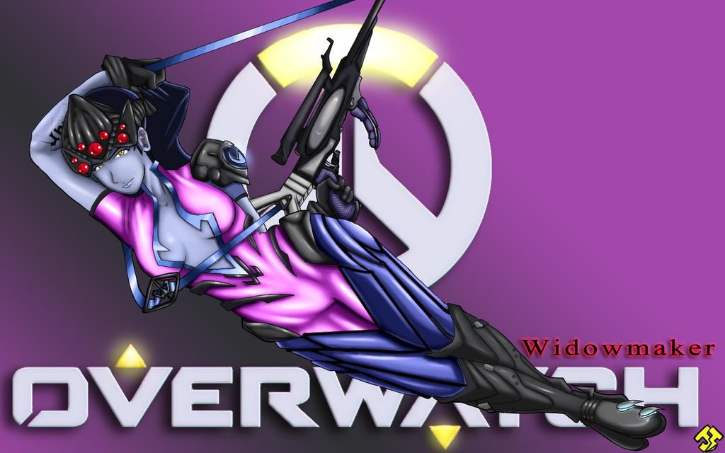 OVERWATCH: Widowmaker by JHTriune