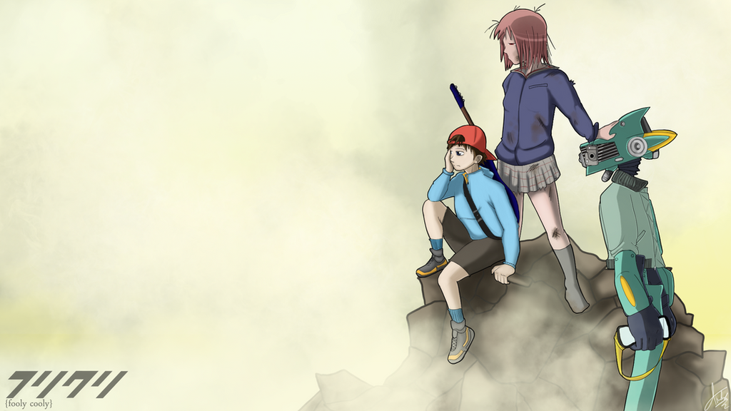 FLCL - Waiting by JHTriune
