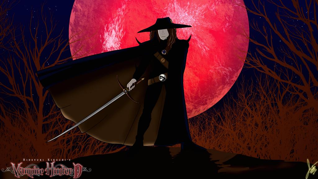 Vampire Hunter D by JHTriune