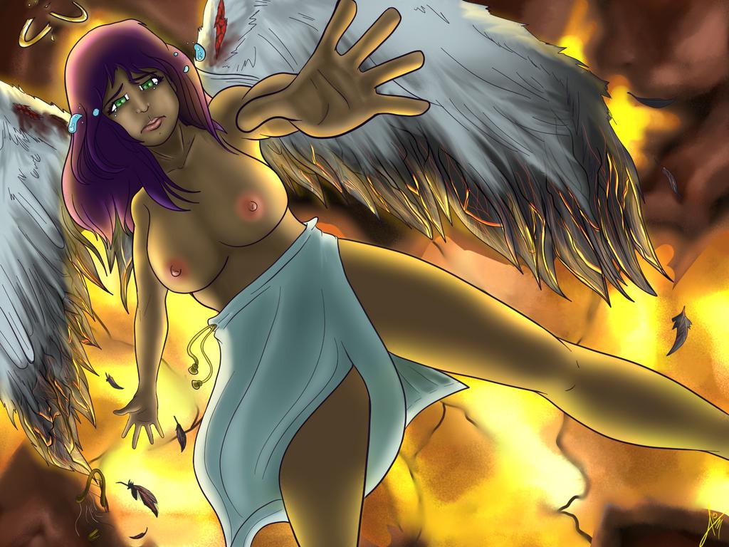 Fallen Angel by JHTriune