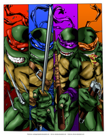Turtle Power! by JHTriune
