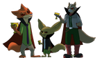 Nick Wilde, Finnick, and Fox McCloud ~Req~ by JHTriune