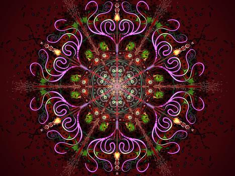 Explosive Life Mandala
