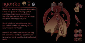 ADOPT: Nyorka, Sand Demon [open]