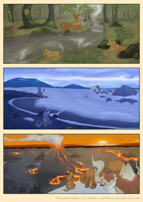 Pokemon Amber: Landscapes