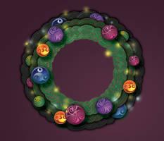 Celtic Christmas Wreath 2,