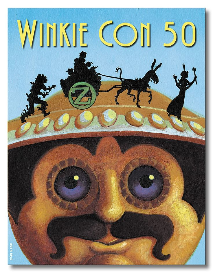 Cover to WinkieCon50 by MyStarkey