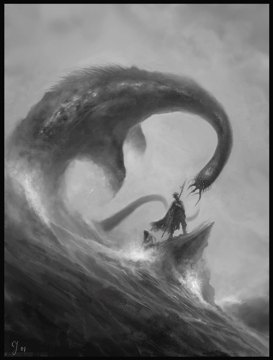 Sea Monster by Sergon