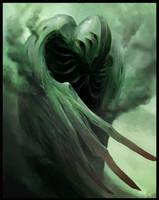 Ruffled Nightmare Feathers by Sergon