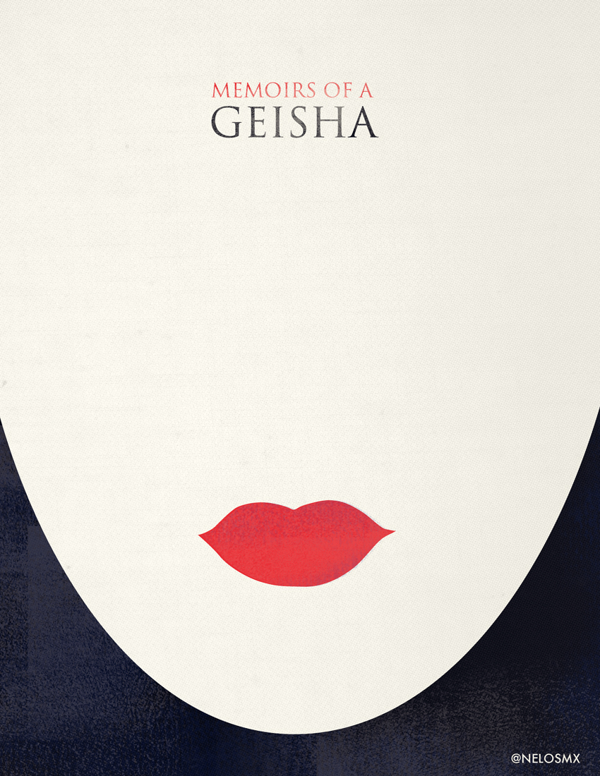 Minimalist Movie Poster - Memories of a Geisha by nelos on ...