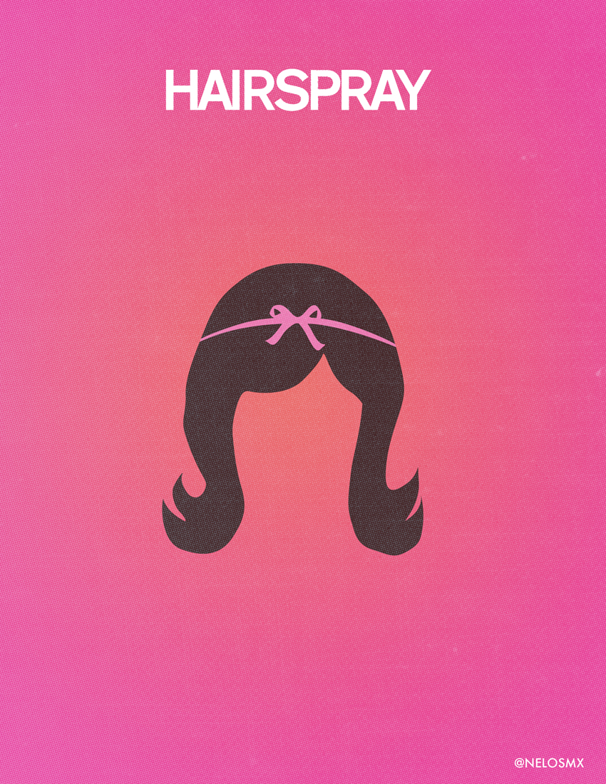 Hairspray the musical poster
