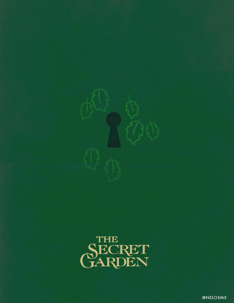 minimalist movie poster the secret garden by nelos on deviantart. Black Bedroom Furniture Sets. Home Design Ideas