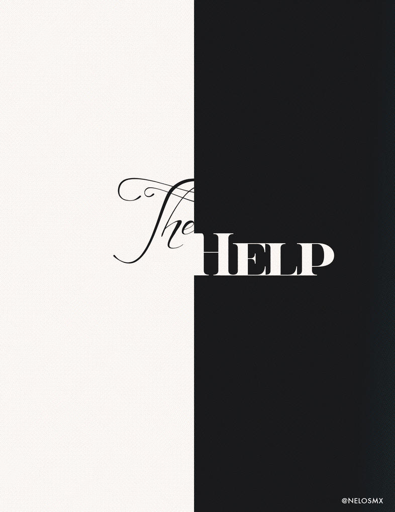 Minimalist Movie Poster: The Help by nelos