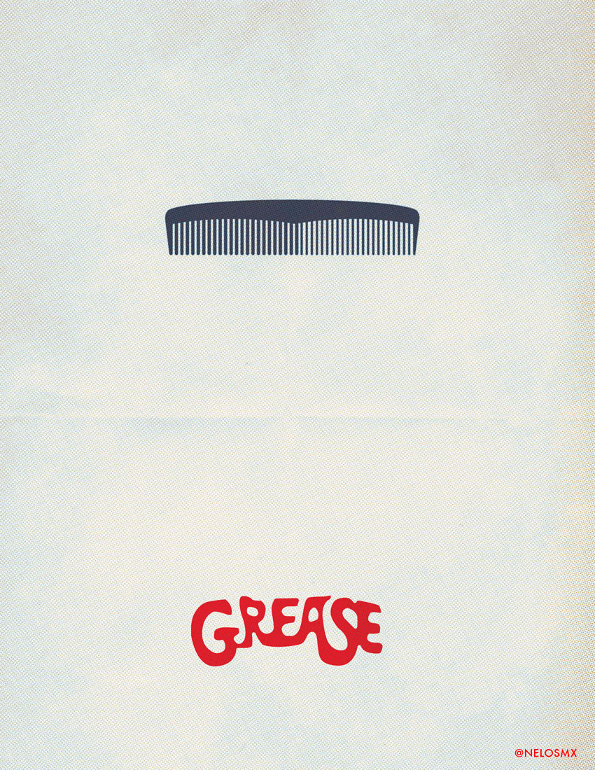 Great Wallpaper Movie Minimal - minimalist_movie_poster__grease_by_nelos-d4sasdd  Pictures_943261.jpg