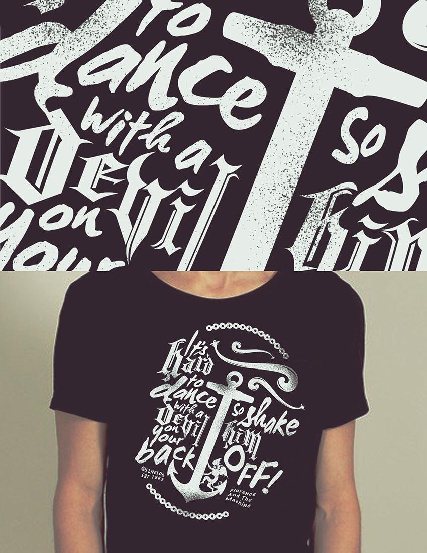 Design t shirt vintage -  Vintage T Shirt Design By Nelos