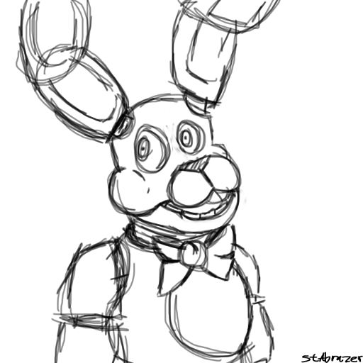 fnaf coloring pages bonnie - bonnie the bunny fnaf 1 free colouring pages