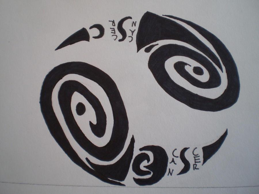 Tribal Zodiac Cancer Tattoo Tribal Cancer Zodiac by