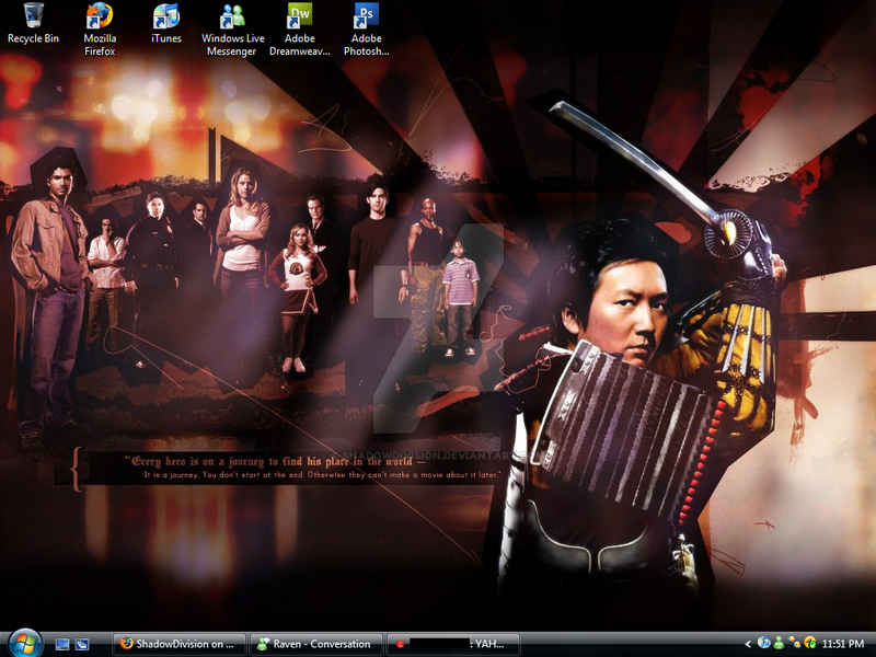 Heroes Desktop by Niiro by ShadowDivision