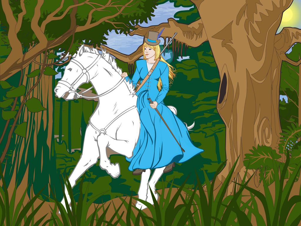 Marianna Riding by DionneJinn