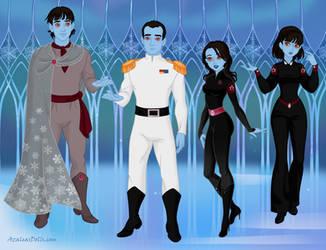 Thrawn's family - Snow Queen Scene Maker by DionneJinn