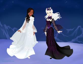 Inyri and Vera OUAT - Snow Queen Scene Maker by DionneJinn