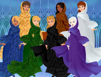 My Gregorian Girls - Snow Queen Scene Maker by DionneJinn