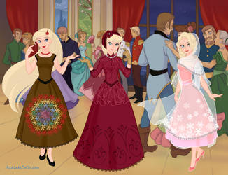 Dreaming Victorian and Edwardian - Snow Queen by DionneJinn