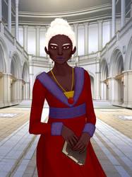 Elenezer - Medieval Woman Rinmaru Games by DionneJinn