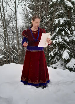 Red Velvet in the Snow