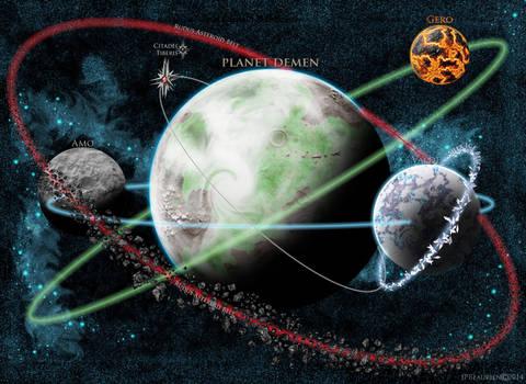 Demen Orbital Map
