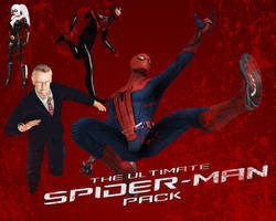 The Ultimate Spider-Man Pack (XNALara) by Citrus07