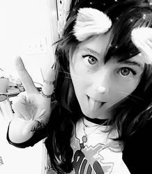 Ahegao cat girl =^~^=