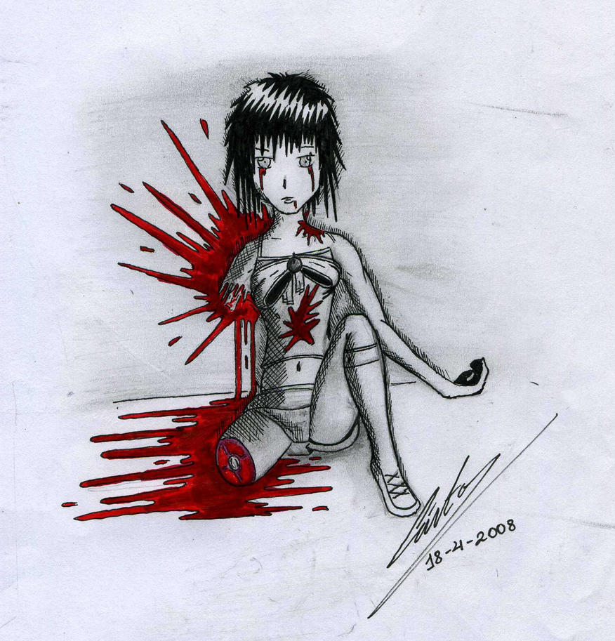 My gore manga by xincubox on deviantart - Gore anime wallpaper ...