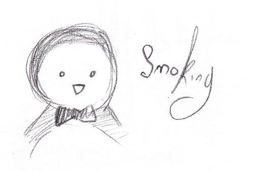 Smoky smoking by PixAnna