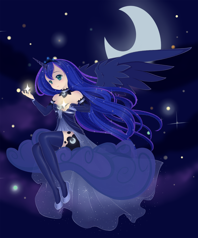 Mlp: Princess Luna By Sylphlox On DeviantArt
