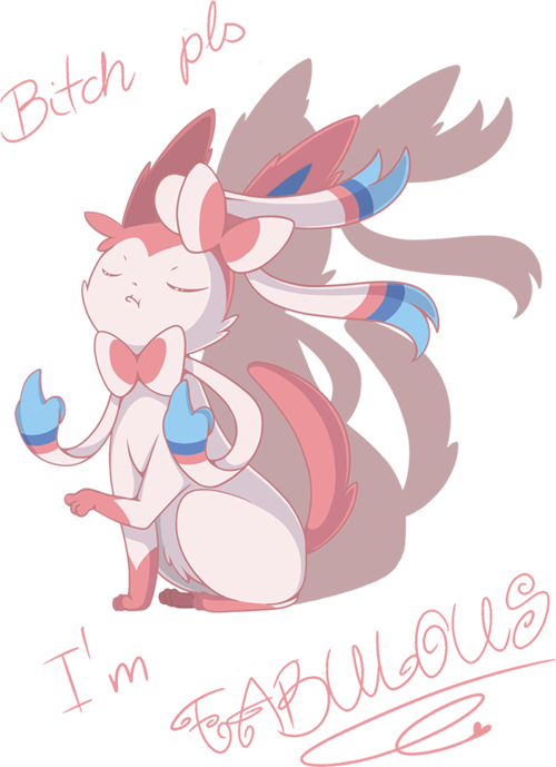 Male Sylveon by sylphlox