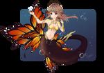 Butterfly mermaid